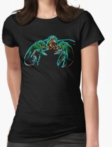 X-ray lobster PNG Womens Fitted T-Shirt