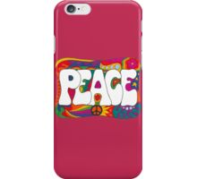 Psychedelic Peace and Love iPhone Case/Skin