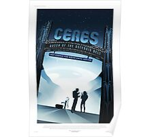 Ceres - NASA/JPL Travel Poster Poster