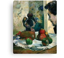 Paul Gauguin - Still Life with Profile of Laval Canvas Print