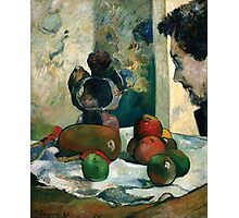 Paul Gauguin - Still Life with Profile of Laval Photographic Print