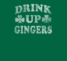 Irish Drink Up Gingers St Patty's Day Womens Fitted T-Shirt