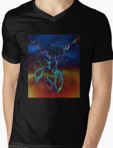 Goat n.2 Mens V-Neck T-Shirt