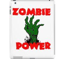 Zombie Power iPad Case/Skin