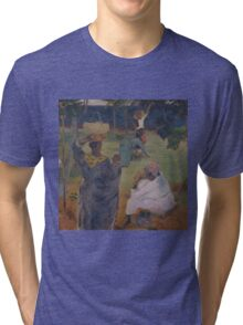 Paul Gauguin - The mangoes at Martinique Tri-blend T-Shirt