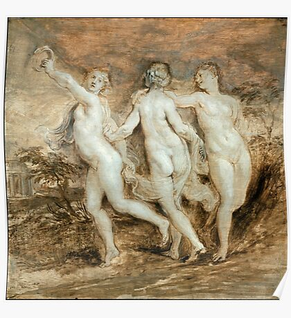 Peter Paul Rubens - The Three Graces Poster
