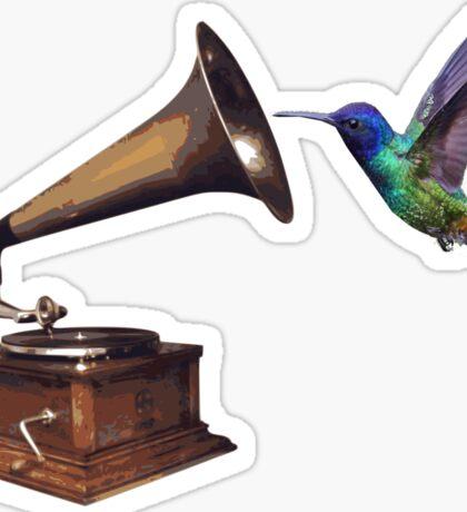 Music is my nectar Sticker