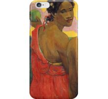 Paul Gauguin - Three Tahitians  iPhone Case/Skin