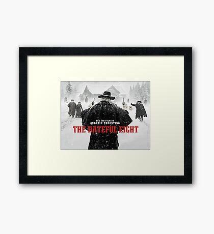 hateful eight Framed Print