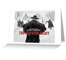 hateful eight Greeting Card