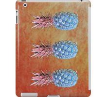 Pineapples#blue iPad Case/Skin
