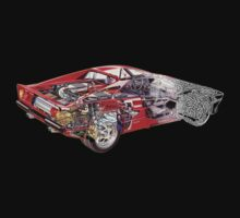 Ferrari F355 One Piece - Long Sleeve
