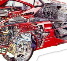 Ferrari F355 Sticker