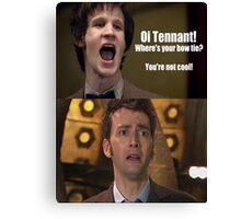 Doctor Who humor Canvas Print