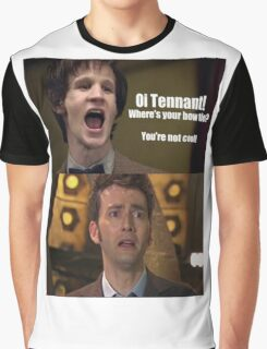 Doctor Who humor Graphic T-Shirt