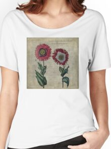 Vintage Poppies  Women's Relaxed Fit T-Shirt