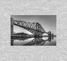 North Queensferry Reflections - B&W Unisex T-Shirt