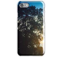 Sunset street  iPhone Case/Skin