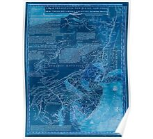 American Revolutionary War Era Maps 1750-1786 070 A map of Pensilvania New Jersey New York and the three Delaware counties 1 Inverted Poster