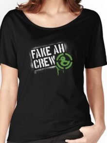 Fake AH Crew Women's Relaxed Fit T-Shirt