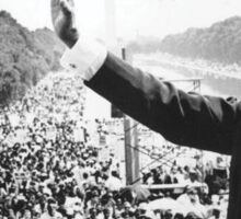 Martin Luther King, Jr. Picture and Quote Sticker
