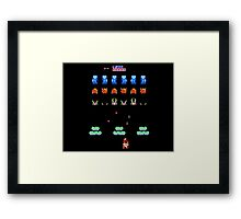 Angel Land Invaders Framed Print