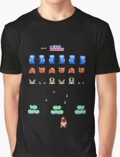 Angel Land Invaders Graphic T-Shirt