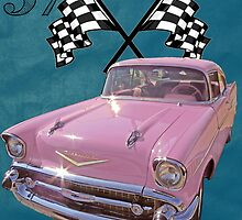 1957 Pink Chevy by Mike Pesseackey (crimsontideguy)