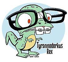 Tyrannodorkus Rex Photographic Print