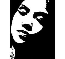 Jhene Aiko The Worst Marker Drawing Art Photographic Print