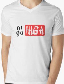 NigaHiga Mens V-Neck T-Shirt
