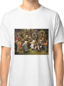 Pieter Bruegel the Elder - The Wedding Dance Classic T-Shirt