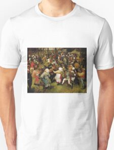 Pieter Bruegel the Elder - The Wedding Dance Unisex T-Shirt