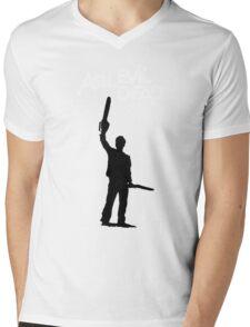 Old Man Ash Mens V-Neck T-Shirt