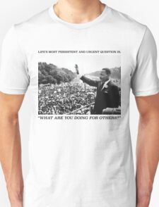 Martin Luther King, Jr. Picture and Quote T-Shirt