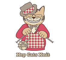 Hep Cats Knit Photographic Print