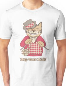 Hep Cats Knit Unisex T-Shirt