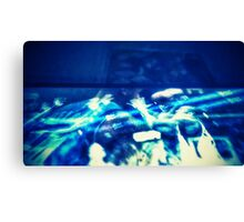 The Game Blue - CaMERA7 Canvas Print