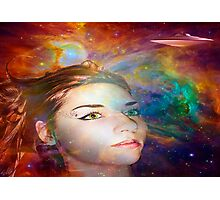Space Explorer Photographic Print