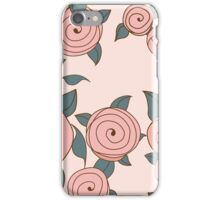 Seamless roses pattern. Vintage roses. iPhone Case/Skin