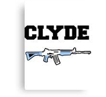 CLYDE  Canvas Print