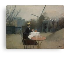 Ramon Casas - Plein Air  Canvas Print