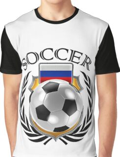 Russia Soccer 2016 Fan Gear Graphic T-Shirt