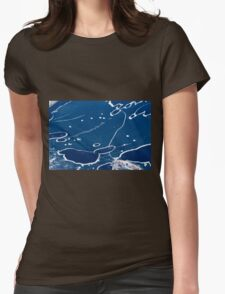 Blue Ice Womens Fitted T-Shirt