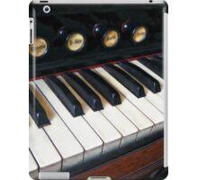 Organ Keyboard Closeup iPad Case/Skin