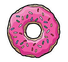 Simpsons Donut Photographic Print