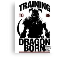Training to be Dragonborn Canvas Print