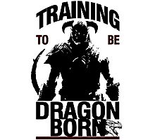 Training to be Dragonborn Photographic Print