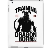 Training to be Dragonborn iPad Case/Skin