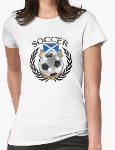 Scotland Soccer 2016 Fan Gear Womens Fitted T-Shirt
